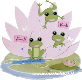 Craft stencil PS8072 Waterlily