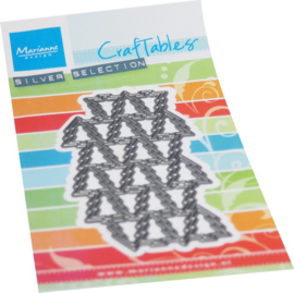 Craftables CR1568 - Art texture Christmas trees