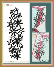 Craftables CR1346 Ice crystals border