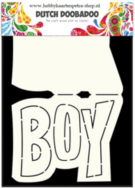 Dutch 	Card Art Text 'Boy' 70.713.648