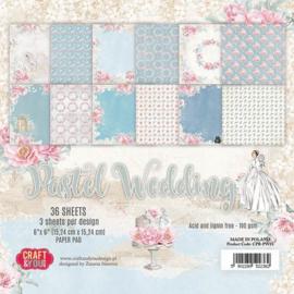 Crafts & You paper pad Pastel Wedding