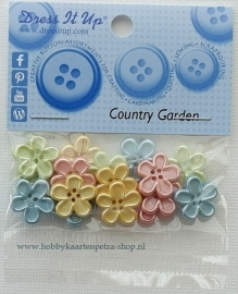 Dress It Up Country Garden 5387