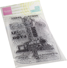 MM1643 - Art stamps - Toys for boys
