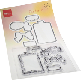 TC0882 - Tiny's Perfume  Stamp & die Set