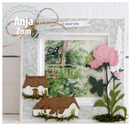 Creatables LR0453 Tiny's Cottages