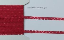 Artikel K1051 Kant Nylon 13mm rood