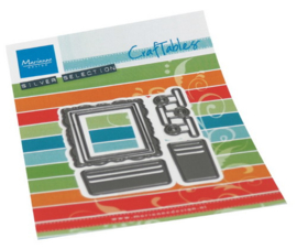 Craftables CR1522 Card display accessories