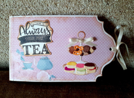 KJ1707 Karin Joan - stamps There is always time for tea