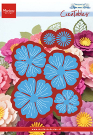 Creatables LR0546 Anja's beautiful flower set