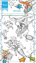 Clear stamps HT1619 Mermaid