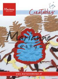 Creatables LR0557 Tiny's pinecone L