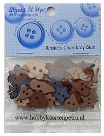 Dress It Up: Rinske`s Cambray Blue 4663