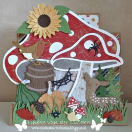 Dutch Card Art  Card Mushrooms 470.713.691