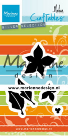Craftables CR1478  poinsettia by Marleen