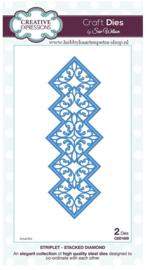 Craft Dies Stacked Diamond CED1609