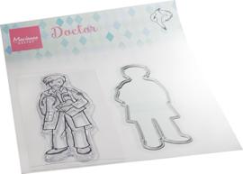 HT1660 - Hetty's  Doctor (1 die + 1 stamp)