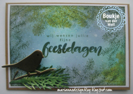 Clear stamps TC0842 Tiny's Pine tree branches