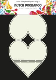 Dutch Card Art Easel Card Heart 470.713.661