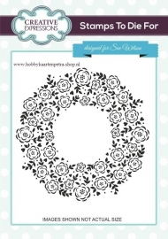 Stamps to die For Floret circle UMS689