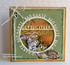 Cratables CR1560 - Van harte cirkel by Marleen