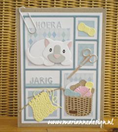 Creatables LR0689 Wool basket