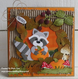 Craftables CR1420 Punch die: Autumn