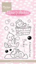 Clear stamps EC0176 Eline's Cute Babies