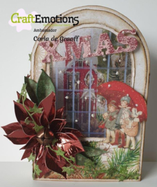 Dutch Fold card Window Rounded top 470.713.728