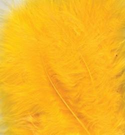 Marabou veertjes Yellow 2811