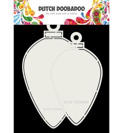 Dutch CardArt Christmas baubles oval 470.713.730