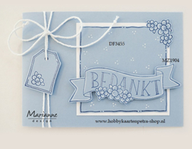 Clear stamps MZ1904 - Marjoleine's  teksten en labels (NL)