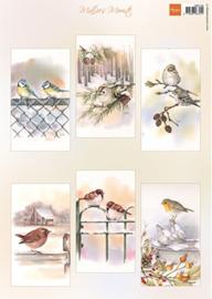 MB0196 - Mattie's mooiste Slimline birds