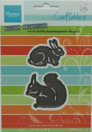 Craftables CR1340 Squirrel & rabbit