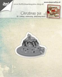 Joy Crafts kerst taart 6002/0946