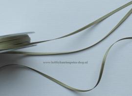 LB1022 Groen satijn lint de luxe 3mm