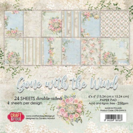 Craft & You paper pad Gone with the Wind