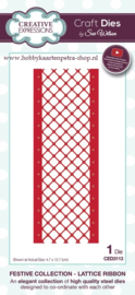 Craft Dies Lattice Ribbon CED3113