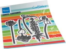 Craftables CR1529  Fresh Flowers