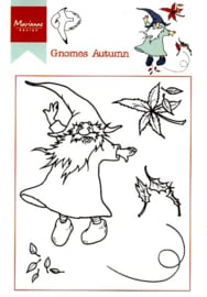 Clear stamps HT1647 Hetty's gnomes autumn