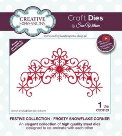 Craft Dies Frosty Snowflake Corner CED3133