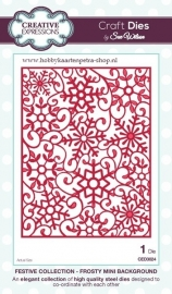 Craft Dies Frosty mini background CED3024