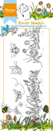 Clear stamps HT1613 Flower meadow