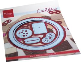 Creatables LR0715 - Biscuit doily