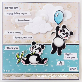 Clear stamps CS1060 Text messages