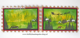 Clear stamps CS1040 - Silhouette  Christmas