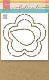 Craft stencil PS8053 - Buttercup
