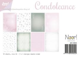 Paper bloc  Condoleance 6011/0542