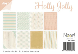 Paper bloc Holly Jolly 6011/0571