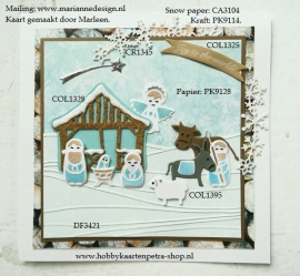 Collectables COL1395 nativity set