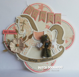 Dutch Card Art Schommelpaard 470713766